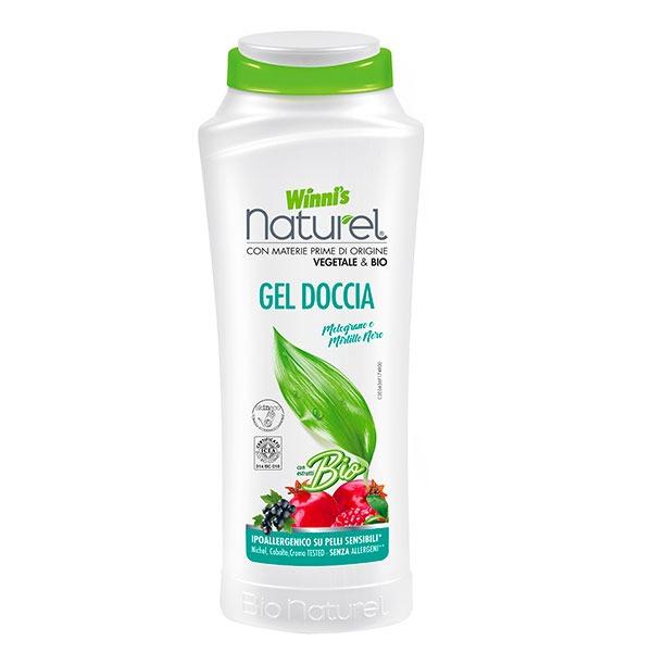 Winnis ekologiškas dušo prausiklis su granatų ekstraktu 250 ml