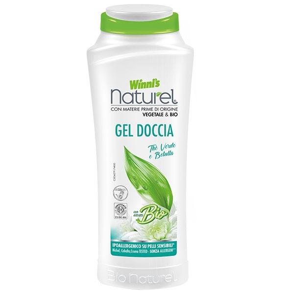Winnis ekologiškas dušo prausiklis su žaliosios arbatos ir beržų ekstraktu 250 ml