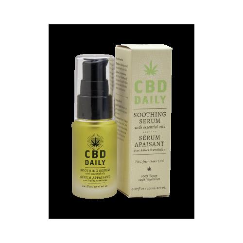 CBD raminamasis serumas kasdieniniam naudojimui 20 ml.