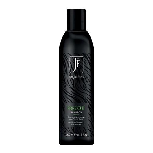 """Jungle Fever šampūnas nepaklusniems plaukams """"FRIZZ OUT"""" 250 ml; 1000 ml;"""