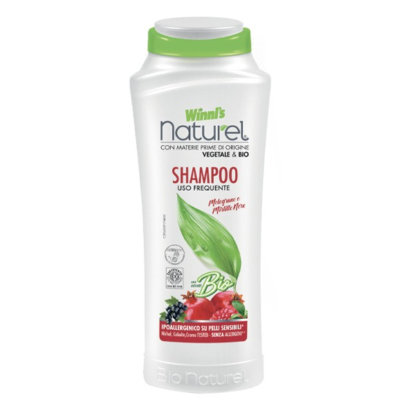 Winnis ekologiškas, plaukų šampūnas su granatų ekstraktu 250 ml;