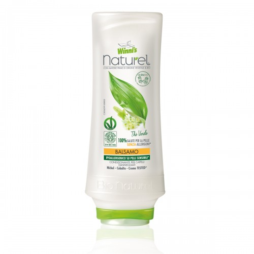 Winnis ekologiškas, drėkinamasis plaukų balzamas su žaliosios arbatos ekstraktu 250 ml;