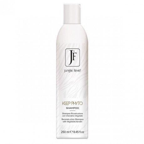 Jungle Fever KEEP PHYTO atstatantis plaukų šampūnas su augaliniu keratinu 250 ml; 1000 ml;