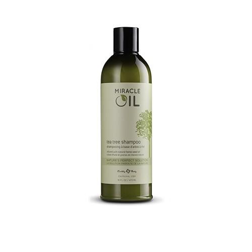 Miracle Oil plaukų šampūnas su arbatmedžiu 473 ml;