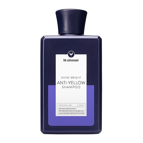 HH Simonsen plaukų šampūnas Anti-Yelow 250 ml; 700 ml;