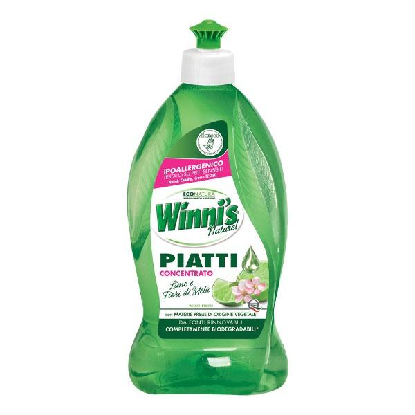 Winnis koncentruotas indų ploviklis su žaliąja citrina 500 ml; 1000 ml;