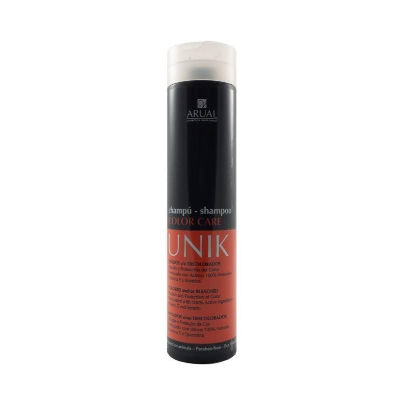 Arual dažytų plaukų šampūnas UNIK COLOR CARE 250 ml;