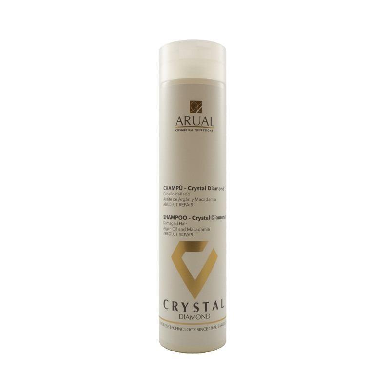 Arual sausų ir pažeistų plaukų šampūnas CRYSTAL DIAMOND 250 ml