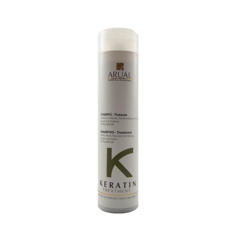Arual atstatantis plaukų šampūnas KERATIN TREATMENT 250 ml;