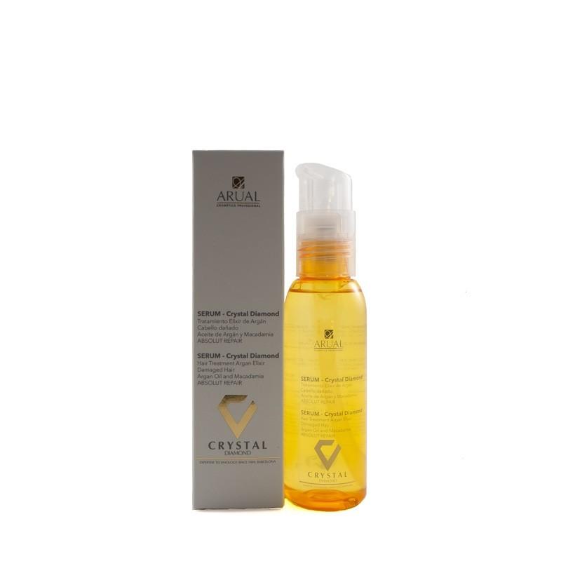 Arual sausų ir pažeistų plaukų serumas CRYSTAL DIAMOND 100 ml;