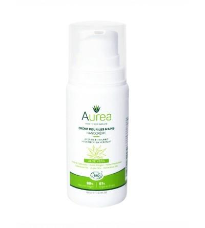 Aurea natūralus rankų kremas su alaviju 50 ml;