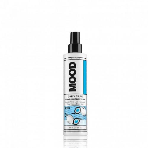 MOOD nenuplaunamas plaukų kondicionierius ploniems ir silpniems plaukams 200 ml;