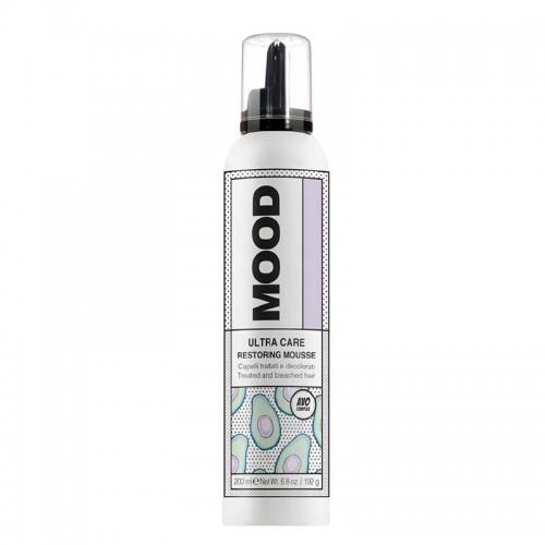 MOOD plaukų putos šviesintiems ir pažeistiems plaukams 200 ml;
