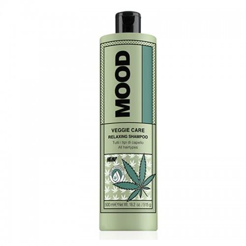 MOOD atpalaiduojantis plaukų šampūnas VEGGIE RELAXING 500 ml
