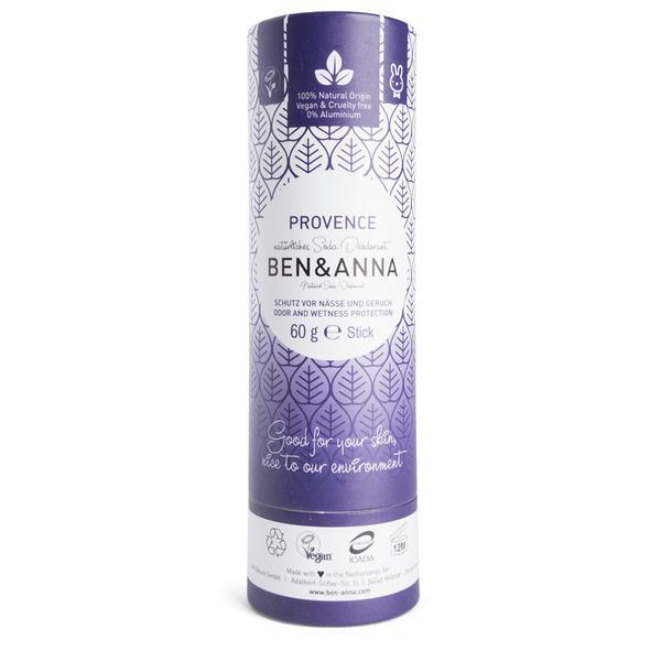 Ben&Anna natūralūs dezodorantai popierinėje pakuotėje (kvapų pasirinkimas) 60 gr